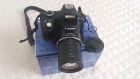 Canon Sx50 Hs Câmera Semi Profissional C/ Acessório Seminova