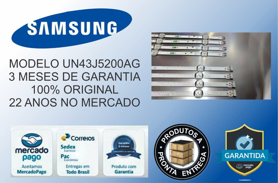 Kit Barras De Led Samsung Un43j5200ag Un43j5200