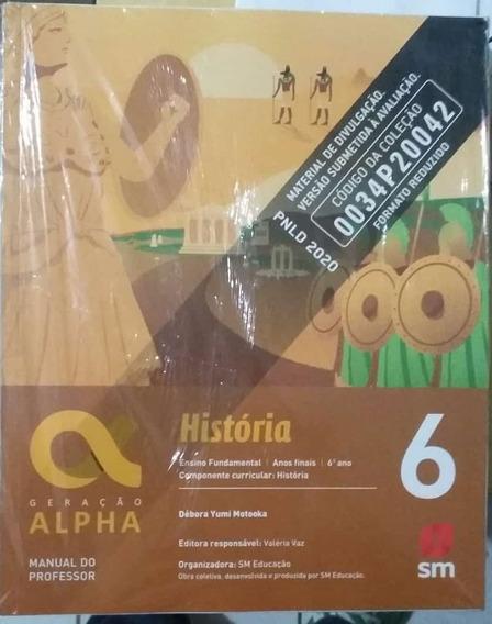 História Geração Alpha Pnld 2020 Livro Do Professor 4 Vol.