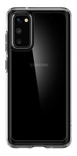 Funda Spigen Cristal Hybrid Transparente Para Samsung S20