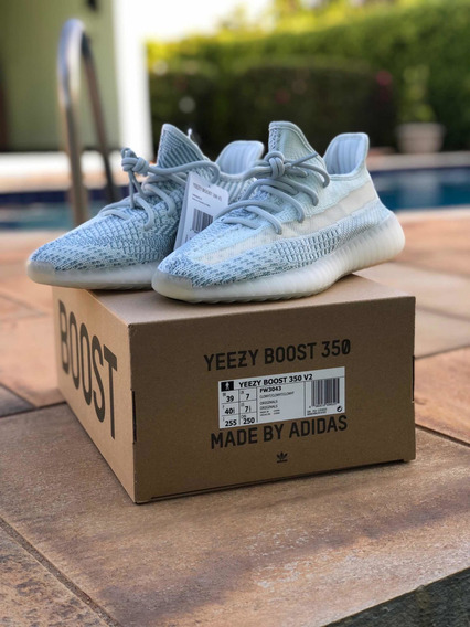 Tênis adidas Yeezy Boost 350 V2 Cloud White N 39 Original