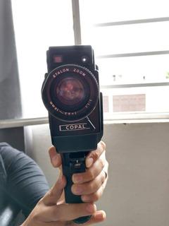 Proyector De Cine En Casa Mas Cámara De 8mm Marca Copal
