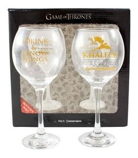 Kit 2 Taças - Game Of Thrones - Produto Oficial