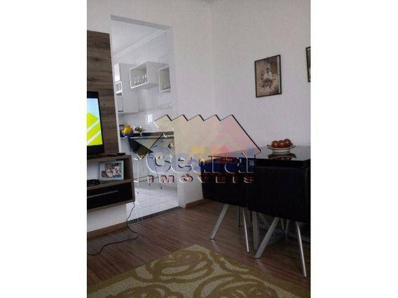 Apartamento Com 2 Dormitórios À Venda Ou Locação, 54 M² Por R$ 190.000 - Centro - Mogi Das Cruzes/sp - Ap0198