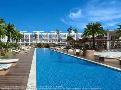 Apartamento En Punta Cana Desde 171.000 Dolares