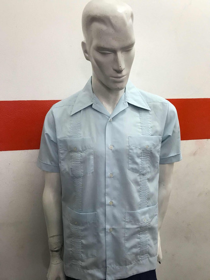 Camisa Guayabera Premier Retro Vintage Made In Korea