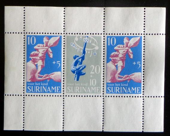 Surinam, Bloque Sc. B159a Caridad Pascua 69 Nuevo L9173