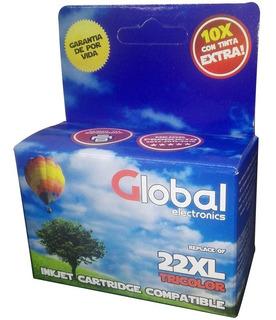 Cartucho Global P/ Hp 22 Xl C9352xl