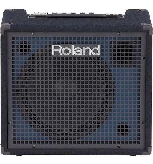 Cubo Amplificador Teclado Roland Kc 200 100w 4 Canais Kc200