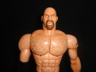 Figura De Luchador De La Wcw Golberg 33 Cms Parlante