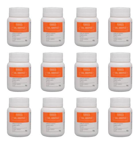 Farmax Salamargo Em Pó 30g (kit C/12)