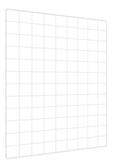 Memory Board Quadro Fotos Branco 65cm X 45cm + 6 Prendedores