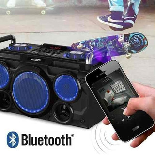 Parlante Portatil Gang Punk Sentey 5000w Bluetooth
