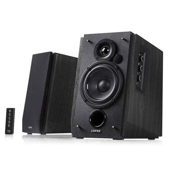 Monitor De Estúdio Edifier R1700bt Black 66w Rms Com Controle (par)