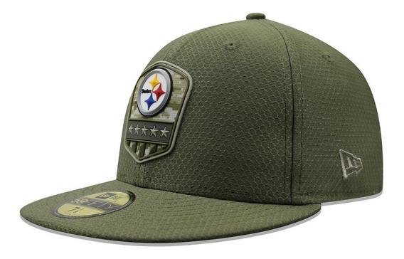 Gorra New Era 59 Fifty Nfl Steelers Salute To Service 2019 V
