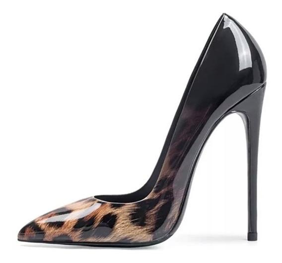 Zapatos Stilettos 12 Cm Importados