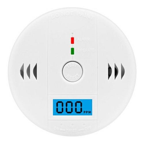 Alarma Detector De Monóxido De Carbono Autónomo Digital