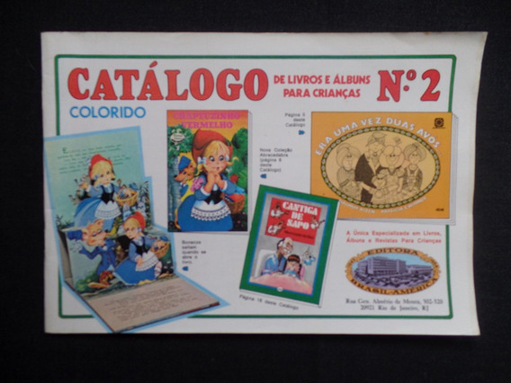 Ebal - Catálogo De Livros E Álbuns Nº 2 - 1984