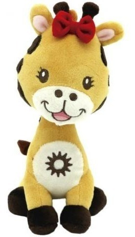 Pelúcia Girafa Rafa Animazoo 20cm - Bee Me Toys