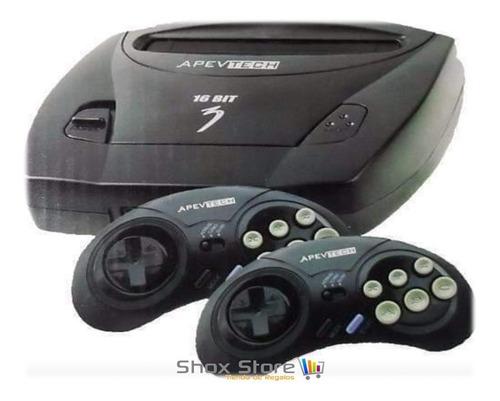 Consola Sega Apevtech Genesis + 109 Juegos Sonic + Cuotas
