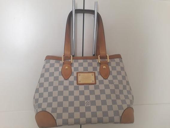 Bolsa Louis Vuitton Hampstead Damier Azur Pm Original
