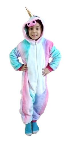Pijama  Enteriza Unicornio Niñas