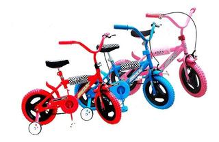 Bicicleta R 12 Niño Niña Proteccione Mas Casco Envio Gratis