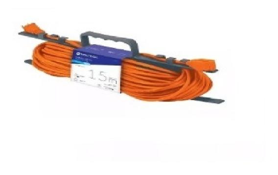 Extension Electrica Uso Rudo 15 M Calibre Voltech Tru48048