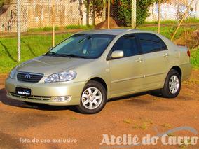 Toyota Corolla 1.6 16v Xli 2004 Impecável Vendido