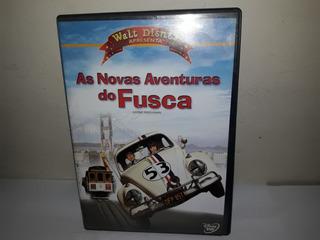 Dvd Filme As Novas Aventuras Do Fusca Dublado