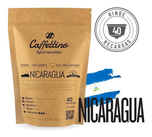 Imagen 1 de 9 de ¼kg Café De Especialidad Nicaragua P/dolce (40 Usos)