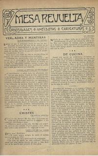 Mesa Revuelta-gente Menuda De Revista Blanco Y Negro España