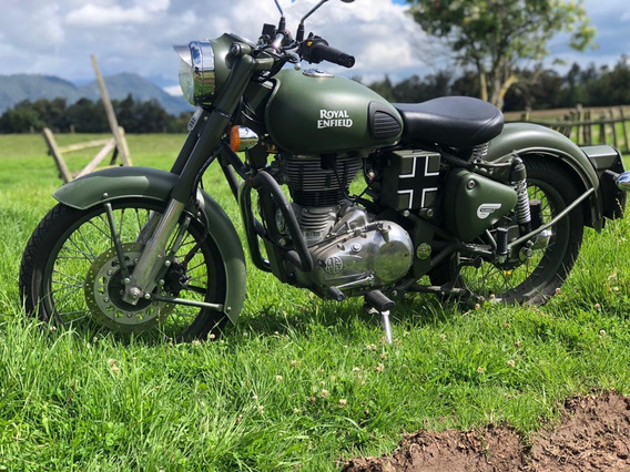 Royal Enfield Classic 500 Green