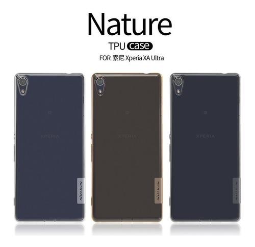 Case Protector Silicona Nillkin: Nature Sony Xa Ultra