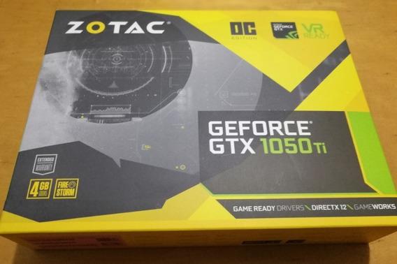Nvidia Gtx 1050ti 4gb Zotac