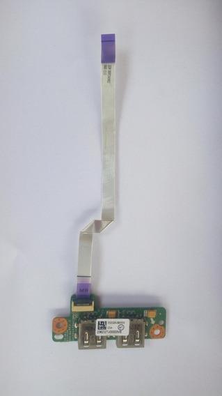 Placa Usb C/flat Acer E1-471 E1-431 E1-421 Dazqsatb6c0 Rev C