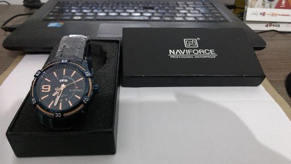 Vendo Relógio Naviforce Azul Metálico