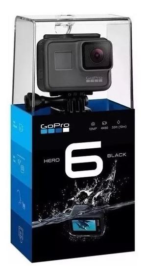 Camera Filmadora Go Pro Hero 6 Black 12 Mp 4k - Lacrado