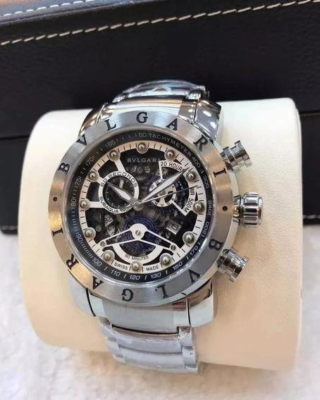 Relógio Gtr5173 Bv Ouro Linha Venom 18k Com Caixa Imperdivel
