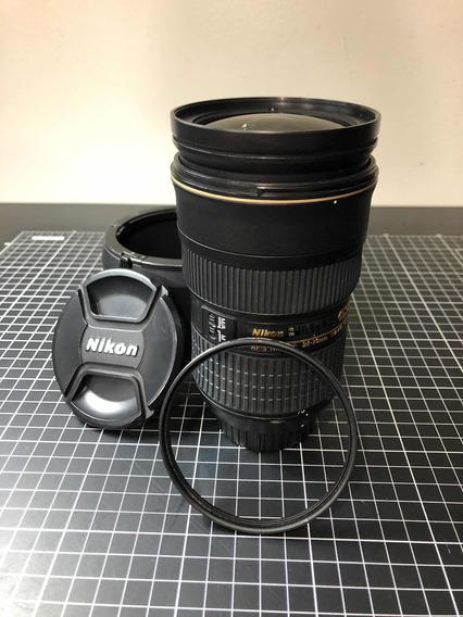 Lente Nikon 24-70mm F/2.8g Ed Vr - Usada