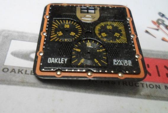 Mostrador Relógio Oakley Tank Minute Machine + Ponteiros