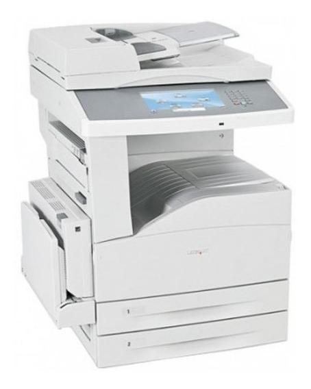 4 X Impressora Lexmark X860de Semimona A3 Mono
