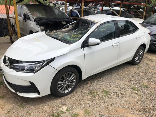 Sucata Toyota Corolla 1.8 2019 Automatico - Rs Auto Peças