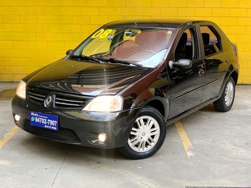 Renault Logan Privilege 1.6 Completo Top Linha Metro Sao Luc