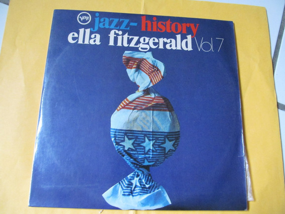 Lp Ella Fitzgerald - Lp Duplo - Jazz History