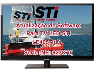 Atualização De Software Para Tv Led Sti Le4057i(c)