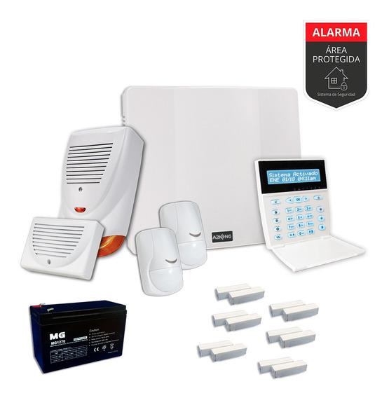 Alarma Para Casa Sensor Magnetico Kit - Cableado