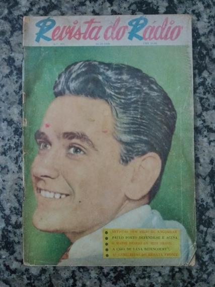 Revista Do Radio N° 475 - 1958 Artistas Tem Medo De Engordar