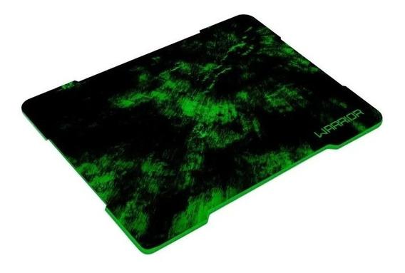 Mouse Pad Gamer Warrior Preto/verde Multilaser Ac287