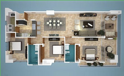 Apartamento En Venta 3hab 2baños En Juan Dolio